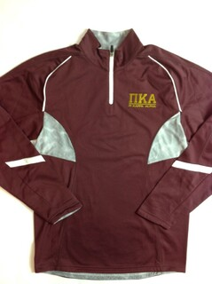 Super Savings - Pi Kappa Alpha Greek Letter Tenacity Pullover 3 of 3 - MAROON WHITE