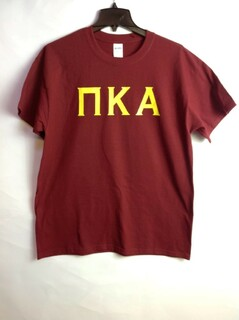 Super Savings - Pi Kappa Alpha University Greek T-Shirt - MAROON