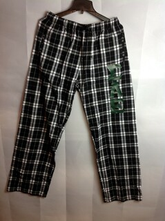 Super Savings - Sigma Alpha Epsilon Pajamas Flannel Pants - Black