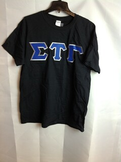 Super Savings - Sigma Tau Gamma Lettered Tee - Black - XL
