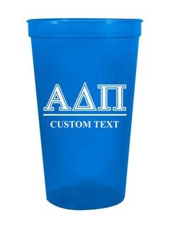 Alpha Delta Pi Custom Greek Symbolized Stadium Cup