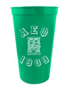 Alpha Epsilon Phi Custom Greek Crest Est Stadium Cup