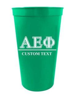 Alpha Epsilon Phi Custom Greek Symbolized Stadium Cup