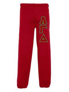 Alpha Gamma Delta Lettered Sweatpants
