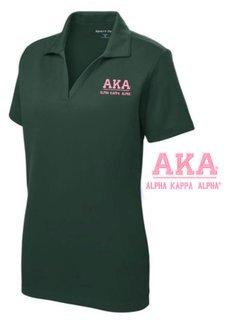 $30 World Famous Alpha Kappa Alpha Greek PosiCharge Polo