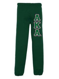 Alpha Kappa Alpha Lettered Sweatpants