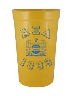 Alpha Xi Delta Custom Greek Crest Est Stadium Cup