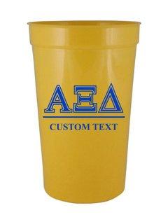 Alpha Xi Delta Custom Greek Symbolized Stadium Cup