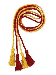 Chi Omega Greek Graduation Honor Cords