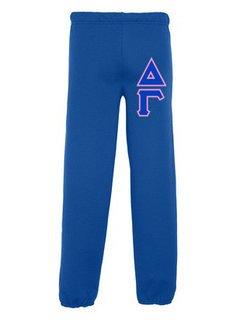 Delta Gamma Lettered Sweatpants