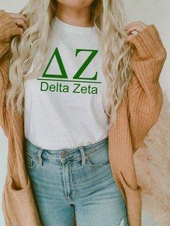 Delta Zeta Comfort Colors Heavyweight T-Shirt