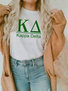 Kappa Delta Comfort Colors Heavyweight T-Shirt