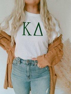 Kappa Delta University Greek T-Shirts