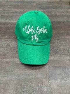 New Super Savings - Alpha Epsilon Phi Hat - GREEN