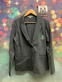 New Super Savings - Alpha Kappa Alpha Crest - Shield Blazer - GREY