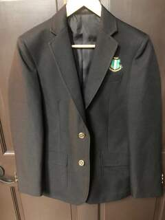 New Super Savings - Alpha Kappa Alpha Crest - Shield Classic Blazer - BLACK