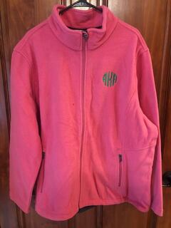 New Super Savings - Alpha Kappa Alpha Fleece Jacket - PINK
