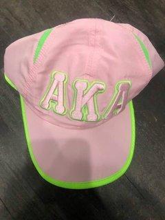 New Super Savings - Alpha Kappa Alpha Greek Featherlight Cap - PINK