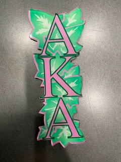 New Super Savings - Alpha Kappa Alpha Magnet - GREEN 1 of 4