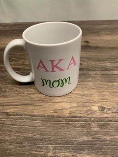New Super Savings - Alpha Kappa Alpha Mom Coffee Cup - WHITE