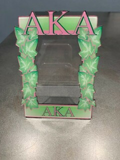 New Super Savings - Alpha Kappa Alpha Picture Frame - GREEN