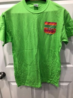 New Super Savings - Alpha Kappa Alpha Pocket T-Shirt - GREEN