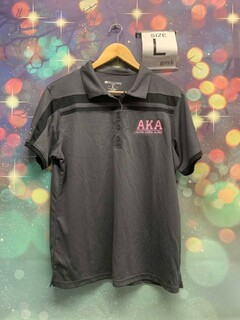 New Super Savings - Alpha Kappa Alpha Polo - GREY