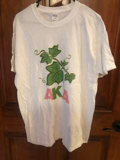 New Super Savings - Alpha Kappa Alpha T-Shirt - WHITE