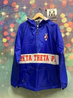 New Super Savings - Beta Theta Pi Anorak - BLUE