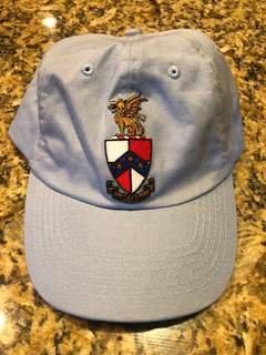 New Super Savings - Beta Theta Pi Crest - Shield Hat - LIGHT BLUE