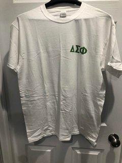 New Super Savings - Delta Sigma Phi T-Shirt - WHITE