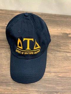 New Super Savings - Delta Tau Delta World Famous Line Hat - NAVY