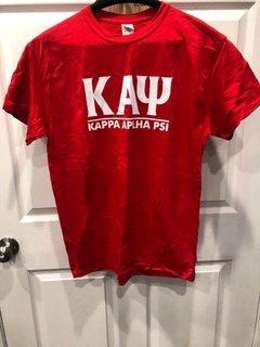 New Super Savings - Kappa Alpha Psi Bar Tee - RED