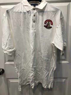 New Super Savings - Kappa Alpha Psi Emblem Polo - WHITE