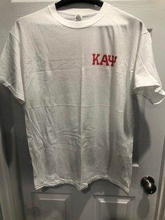 New Super Savings - Kappa Alpha Psi Flag T-Shirt - WHITE