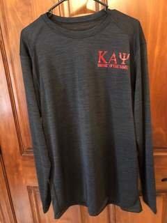 New Super Savings - Kappa Alpha Psi World Famous Dry Fit Tonal Long Sleeve Tee - BLACK