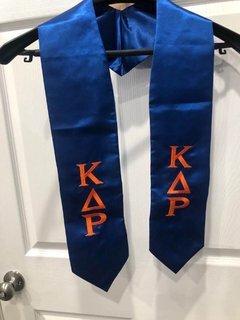 New Super Savings - Kappa Delta Rho Graduation Stole - BLUE