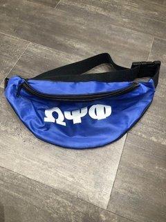 New Super Savings - Omega Psi Phi Fanny Pack - BLUE