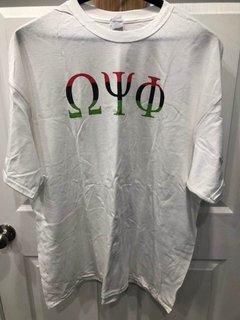 New Super Savings - Omega Psi Phi T-Shirt - WHITE