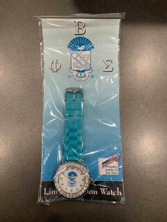 New Super Savings - Phi Beta Sigma Rubber Watch - BLUE