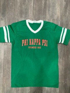 New Super Savings - Phi Kappa Psi Founders Jersey - GREEN
