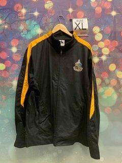New Super Savings - Phi Kappa Sigma Crest - Shield Medalist Track Jacket - BLACK