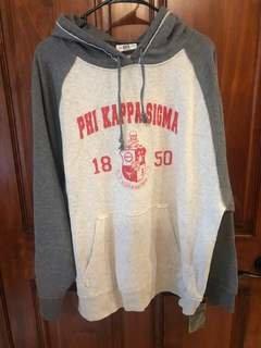 New Super Savings - Phi Kappa Sigma Sweatshirt - LIGHT GREY