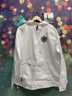 New Super Savings - Pi Kappa Alpha Anorak - WHITE