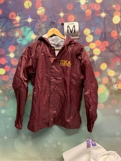New Super Savings - Pi Kappa Alpha Hooded Coach's Jacket - MAROON