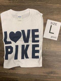 New Super Savings - Pi Kappa Alpha Love Pike T-Shirt - WHITE