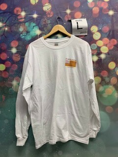 New Super Savings - Pi Kappa Alpha Stripes Long Sleeve T-Shirt - WHITE