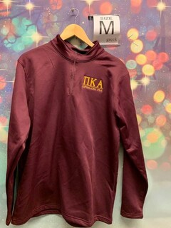New Super Savings - Pi Kappa Alpha World Famous Wicking Fleece Pullover - MAROON