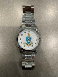 New Super Savings - Sigma Chi Commander Watch - SILVER 1 of 2