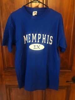 New Super Savings - Sigma Chi State T-Shirt - BLUE